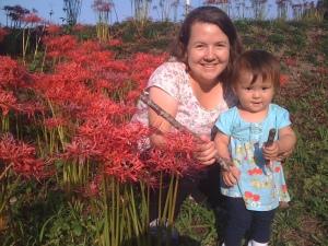 Gillian and her eldest daughter